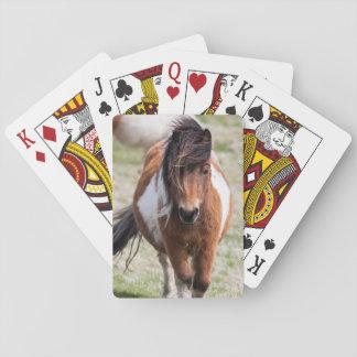 Shetland Pony, Shetland Islands, Scotland Playing Cards