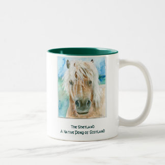 Shetland Pony Two-Tone Mug