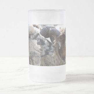 SHETLAND RAMS ON A GLASS # 2 COFFEE MUG