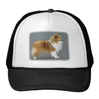 Shetland Sheepdog 8R003D-12 Trucker Hat