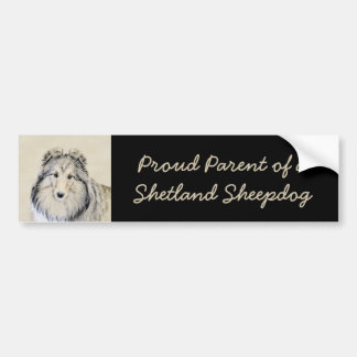 Shetland Sheepdog Bumper Sticker