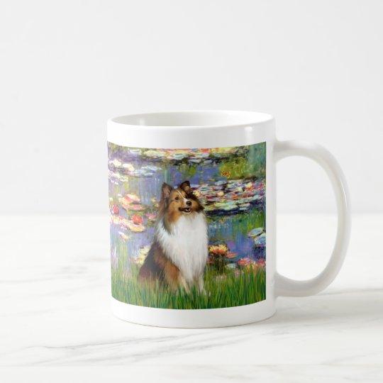 Shetland Sheepdog (Bz) - Lilies 2 Coffee Mug