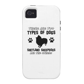 Shetland Sheepdog dog breed designs iPhone 4/4S Cases