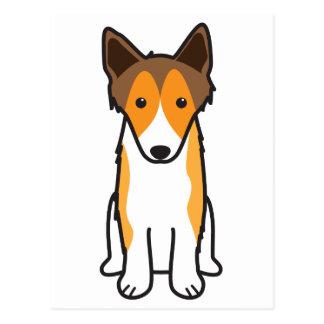 Shetland Sheepdog Dog Cartoon Postcard