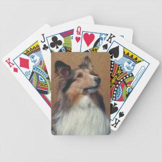 Shetland Sheepdog Dog Playing Cards