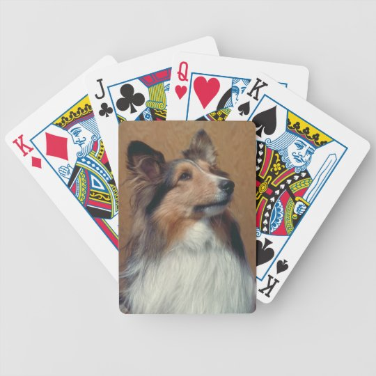 Shetland Sheepdog Dog Playing Cards
