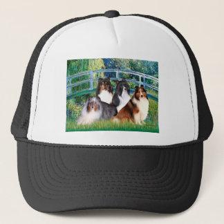 Shetland Sheepdog (four) - Bridge Trucker Hat