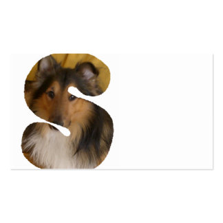 Shetland_Sheepdog in s png Business Card Templates