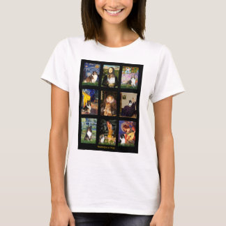 Shetland Sheepdog Masterpiece Composite T-Shirt