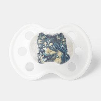 Shetland Sheepdog Painting BooginHead® Pacifier
