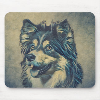 Shetland Sheepdog Painting Mousepad