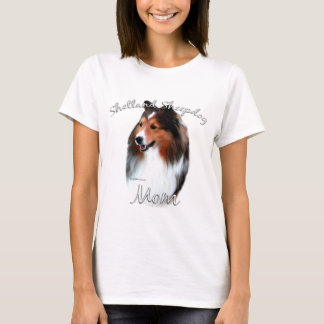 Shetland Sheepdog (sable) Mom 2 T-Shirt
