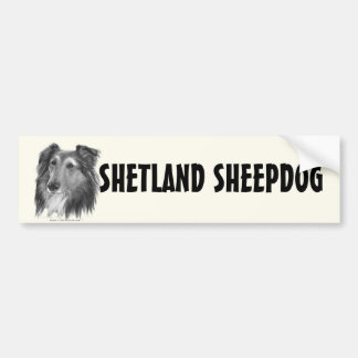 Shetland Sheepdog (Sheltie) Bumper Sticker