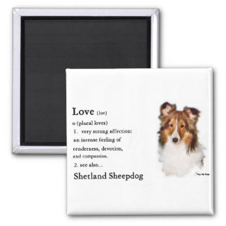 Shetland Sheepdog Sheltie Gifts Magnet