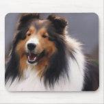 Shetland Sheepdog Sheltie Gifts Mouse Pads