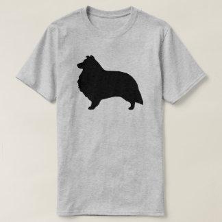 Shetland Sheepdog Silhouette T-Shirt