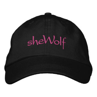 sheWolf Embroidered Baseball Cap