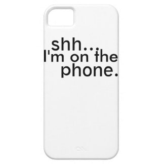 Shh! Barely There iPhone 5 Case