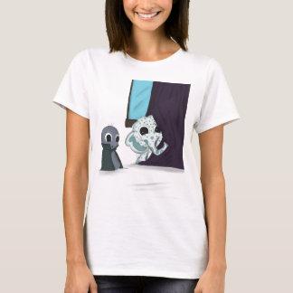 shh i'm hiding monster digital art T-Shirt