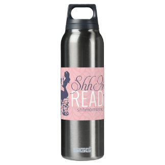 Shh Moms Reading 16 Oz Insulated SIGG Thermos Water Bottle
