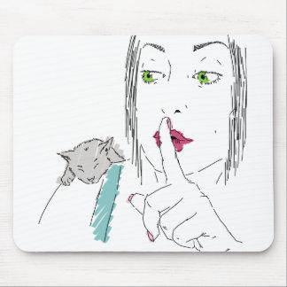 shh mouse pad
