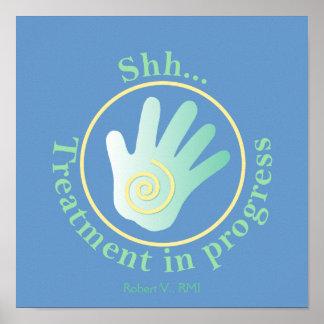 Shh Treatment in Progress Posters