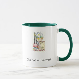 Shh! Writer at Work mug