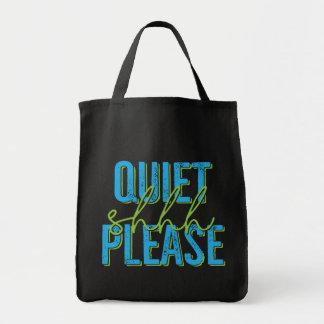 Shhh Quiet Please (blue/green)