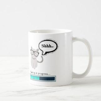 Shhh...Reading in progress Coffee Mug