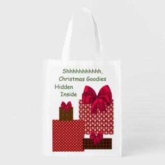 Shhhhh, Christmas Goodies Hidden Inside Tote