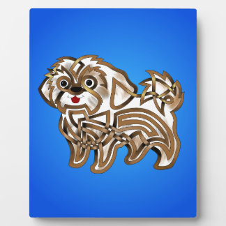 Shi-tzu Display Plaque