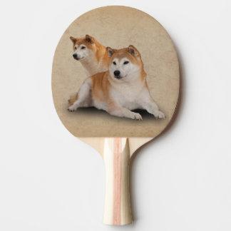 SHIBA DOGS Ping-Pong PADDLE