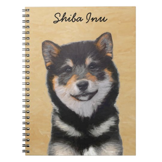 Shiba Inu (Black and Tan) Notebook