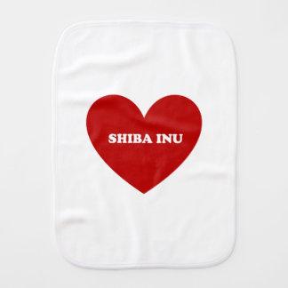Shiba Inu Burp Cloth
