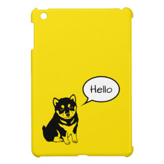 Shiba Inu Chinese Dog Year 2018 iPad Case