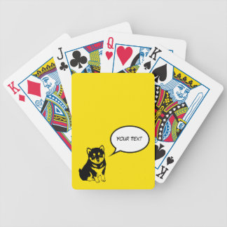 Shiba Inu Chinese Dog Year 2018 Playing Cards
