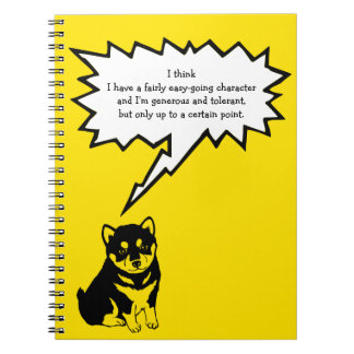 Shiba Inu Chinese Dog Year 2018 Speech Bubble N Notebooks