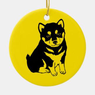 Shiba Inu Chinese Dog Year 2018 Text back Ornament