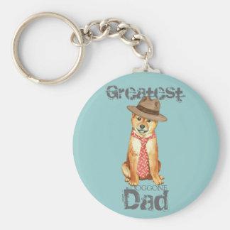 Shiba Inu Dad Key Ring