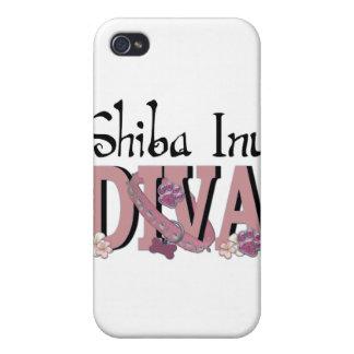Shiba Inu DIVA iPhone 4 Cases