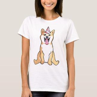 Shiba Inu Dog Drawing Cute Woman's Shirt