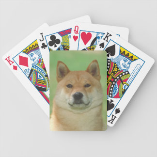Shiba Inu Dog Playing Cards