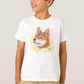 Shiba Inu Drawing T-Shirt