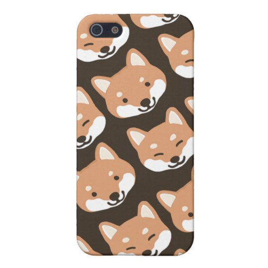 Shiba Inu Faces iPhone 5/5S Cases