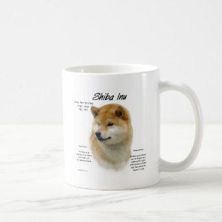 Shiba Inu History Design Coffee Mug