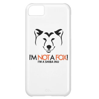 Shiba Inu: I'm Not a Fox iPhone Case
