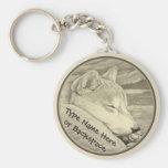 Shiba Inu Keychain Personalised Shiba Inu Dog Gift