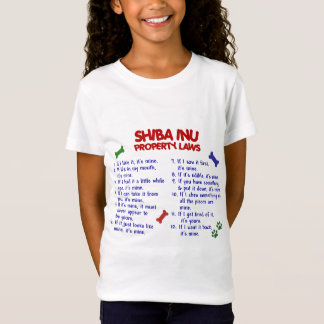 SHIBA INU Property Laws 2 T-Shirt