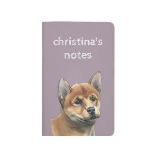 Shiba Inu Puppy Drawing Journal