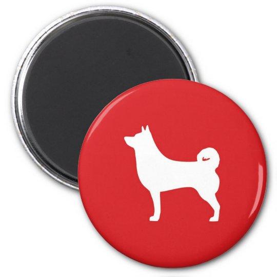 Shiba Inu Round Magnet